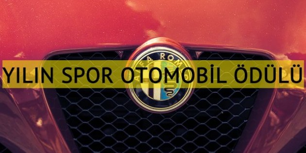 "Alfa Romeo Stelvio Quadrifoglio'ya ""Yılın Spor Otomobili"" ödülü"