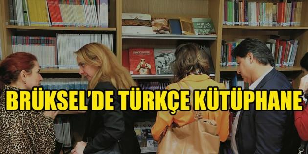 Yunus Emre Enstitüsünden Brüksel'de Türkçe kütüphane