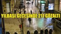 Brüksel'de yılbaşı gecesinde 211 kişi gözaltına alındı