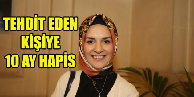 Eski milletvekili Özdemir'i tehdit eden kişiye 10 ay hapis cezası