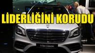 Mercedes lüks araç satışında liderliğini korudu