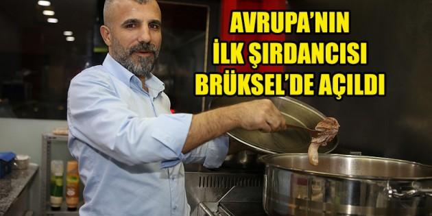 Avrupa'nın ilk şırdancısı Brüksel'de açıldı