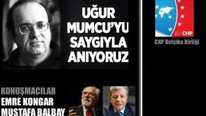 Emre Kongar ve Mustafa Balbay Brüksel'e geliyor