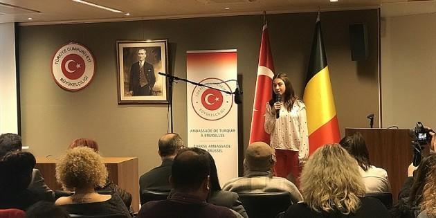 Brüksel'de Birleşmiş Milletler Ana Dil Günü kutlandı