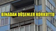 Brüksel'de binadan düşen parça tehlike saçtı