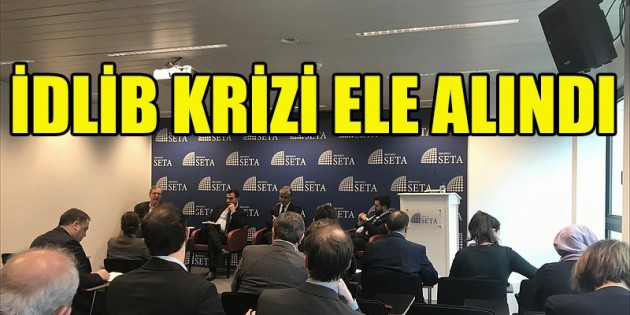 SETA Brüksel'de İdlib krizi ele alındı