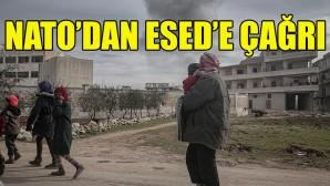 NATO'dan Rusya destekli Esed rejimine çağrı