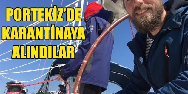 İki Türk denizci Portekiz'de koronavirüs nedeniyle karantinada
