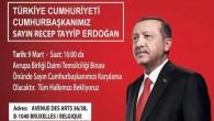 Cumhurbaşkanı Erdoğan Brüksel'e geliyor
