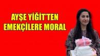 Türk kökenli Senatör'den market çalışanlarına moral pastası