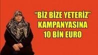 Almanya'daki Türk vatandaşından Türkiye'ye 10 bin euro'luk destek