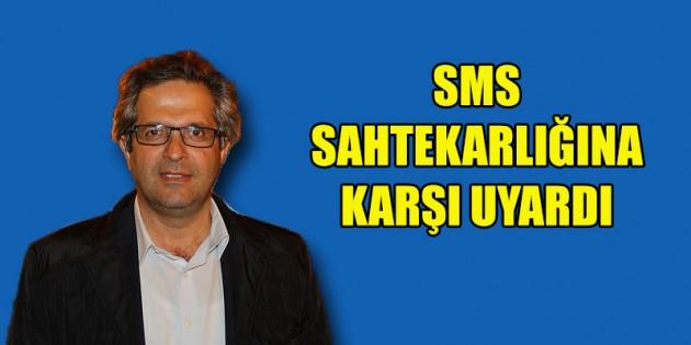 Milletvekili Şevket Temiz'den SMS dolandırılıcığı uyarısı