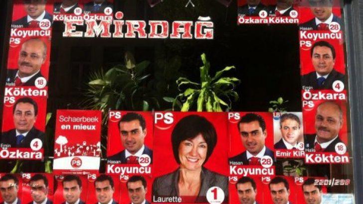 Belçikalı ile Türk'ün seçim atışması