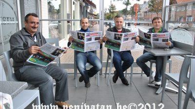"""""""YENİVATAN BELÇİKA"""" GAZETESİ BÜYÜK İLGİ GÖRDÜ"""