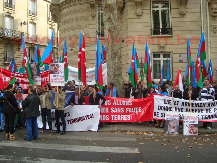 azerbaycan,protesto