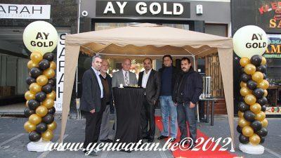 AY GOLD KUYUMCULUK ANVERS'E ŞUBE AÇTI