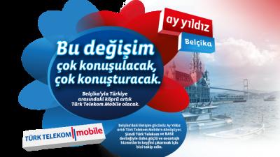 TÜRK TELEKOM  MOBİLE BELÇİKA'DA