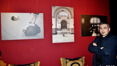 """NECMİ TÜFEKÇİ """"İSTANBUL'UN SESLERİ""""TEMALI İLK FOTOĞRAF SERGİSİNİ AÇTI"""