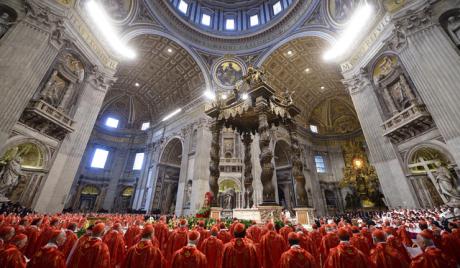Vatican Conclave 2013 - Pro Eligendo Papa Mass