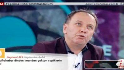 """YAVUZ NÜFEL: """"TÜRKLERİ EŞCİNSELLİĞE ÖZENDİRMEK İSTİYORLAR"""""""