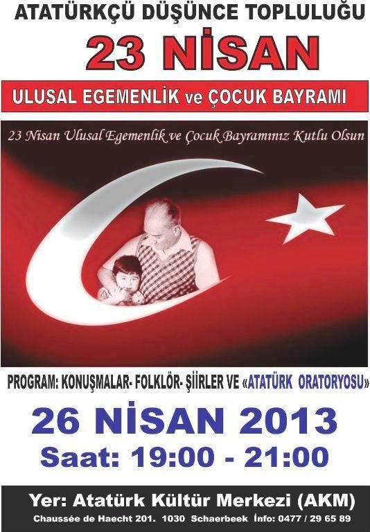 23 nisan afis