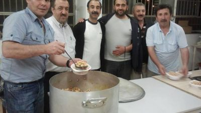 ANVERS ZUID'DE CUMARTESİ İFTARTARLARI