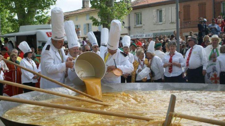MALMEDY KASABASINDA 1.5 TON AĞIRLIĞINDA OMLET FESTİVALİ
