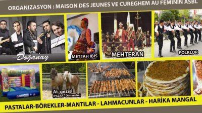 ANDERLECHT'TE MAHALLE ŞENLİĞİ