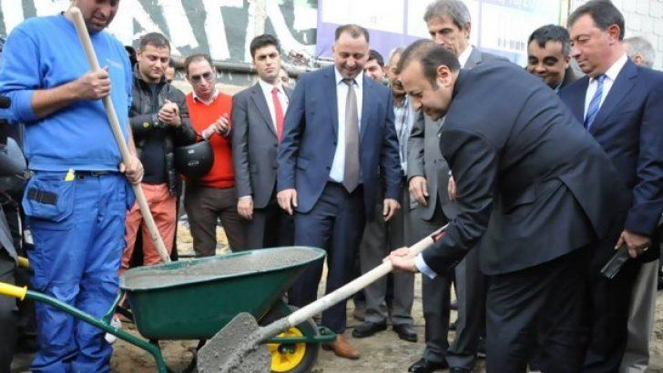 BAKAN BAĞIŞ ANVERS'TE CAMİ TEMEL ATMA TÖRENİNE KATILDI