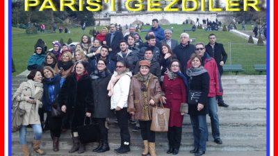 TÜRK DERNEKLERİNDEN PARİS GEZİSİ