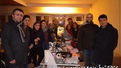 HELPING HANDS BELGIUM'UN YARDIM ÇAĞRISINA BÜYÜK DESTEK