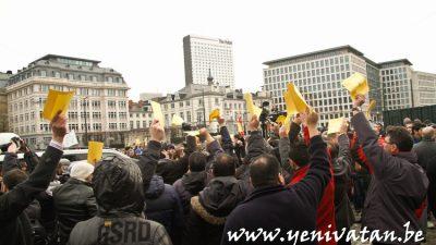 İLİAZ TAHİRAJ'IN KATİLİNE VERİLEN CEZAYA PROTESTO