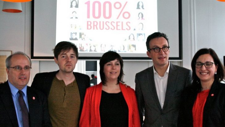 "SP.A ""100% BRUSSELS"" DEDİ"