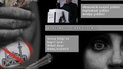 SİNAN ÖZDEMİR, GENK'TE ŞİDDETİ ANLATACAK