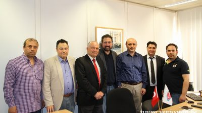 YEREL MEDYADAN, TRT'YE HAYIRLI OLSUN ZİYARETİ