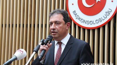 """""""Belçika'da 15 Temmuz gecesi binlerce Türk vatandaşı toplandı"""""""