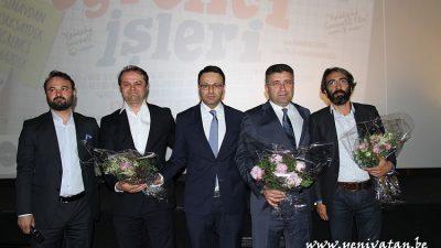 'ÖĞRENCİ İŞLERİ' BRÜKSEL GALASI FUL ÇEKTİ