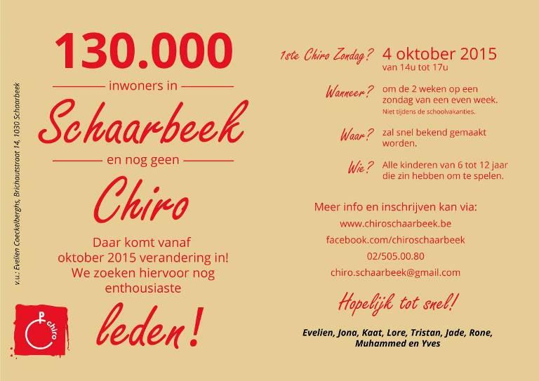 chiro schaerbeek