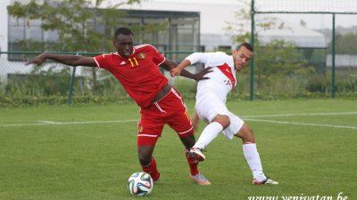 U19 MİLLİ TAKIMI İLE BELÇİKA ARASINDA GOL DÜELLOSU