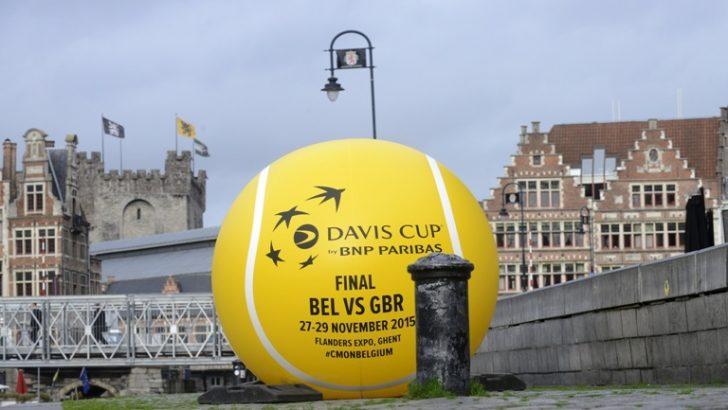 GENT, DAVİS CUP'A EV SAHİPLİĞİ YAPTI