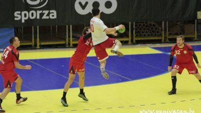 Milli Takım Belçika'ya 27-21 yenildi