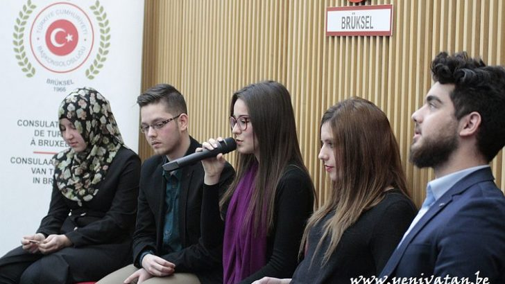 T.C. BRÜKSEL BAŞKONSOLOSLUĞU İLE F-AMİS'TEN ÖĞRENCİLERE DESTEK