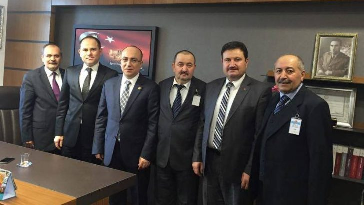 MHP İSTANBUL MİLLETVEKİLİ YÖNTER'E SÜRPRİZ ZİYARET