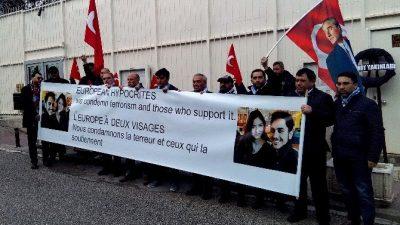 TERÖRE KURBAN GİDEN GENCİN AİLESİNDEN BELÇİKA'YA PROTESTO