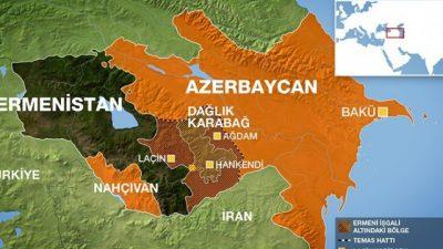 AZERBAYCAN ORDUSU, ERMENİSTAN'DAN BAZI BÖLGELERİ GERİ ALDI
