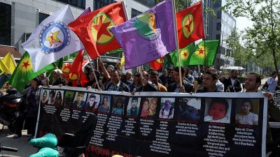BELÇİKA'DAN TERÖR ÖRGÜTÜ PKK'YA İZİN
