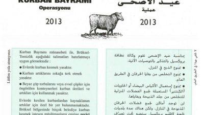 AFCSA KURBAN BAYRAMI ÖNCESİ BİLGİLENDİRDİ