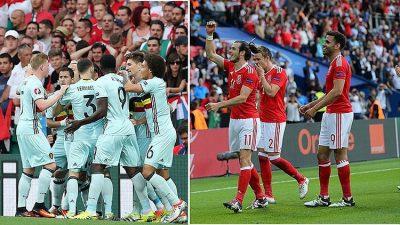 EURO 2016'DA GALLER İLE BELÇİKA SAHAYA ÇIKIYOR
