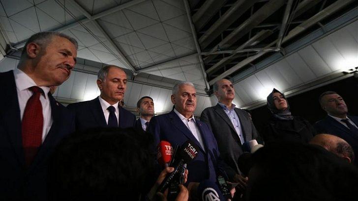 """YILDIRIM: """"EMARELER DAEŞ ÖRGÜTÜNÜ İŞARET ETMEKTE"""" 29062016"""