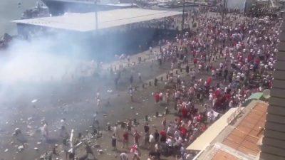 UEFA'DAN RUSYA VE İNGİLTERE'YE DİSKALİFİYE UYARISI